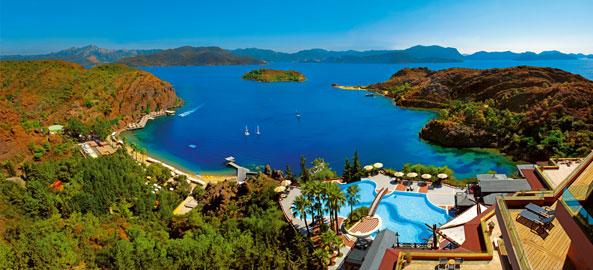 Hotele w nadmorskich kurortach w Turcji
