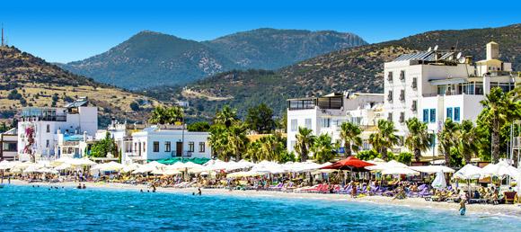Turcja - szerokie plaże już
